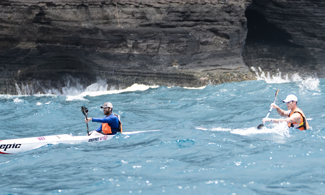 M2M Surfski race Austin Kieffer